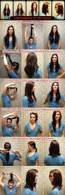 ponytail haircut technique video how to cut your own hair lee stafford cosmopolitan and