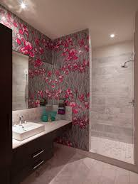 wallpaper bathroom ideas brilliant contemporary wallpaper for bathrooms for your home