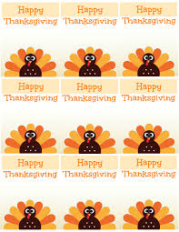 thanksgiving labels free printable thanksgiving place cards also great for cupcake