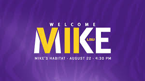 lsu to hold a welcome event for mike vii