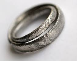 matching wedding bands modern wedding ring rustic wedding ring set silver wedding