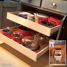 7 roll out cabinet drawers you can build yourself base cabinets