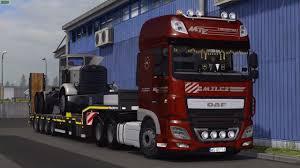 mega truck daf xf116 truck mega mod euro truck simulator 2 mods