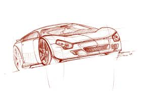 best sketched cars art gallery web