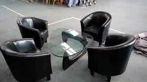 Tub Chairs Secondhand Pub Equipment Chairs 20x Faux Leather Effect Tub