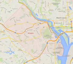 Map Of Virginia Cities And Towns by Arlington Virginia Map