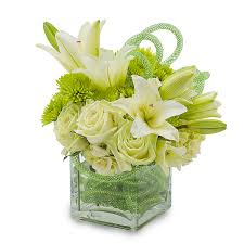 florist houston white with a green flair bouquet scent violet flowers and