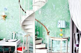Hand Painted Wallpaper by Traditional Wallpaper Chinoiserie Handmade Hand Painted