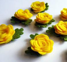 felt applique felt flower applique felt flower embellishment