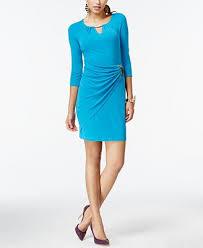 thalia sodi faux wrap keyhole dress created for macy u0027s dresses