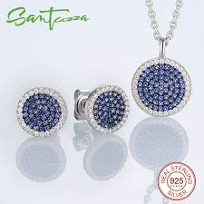 sted jewelry aliexpress buy jewelry sets for women small blue cz