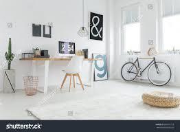 modern freelancers studio prepared work home stock photo 680851723