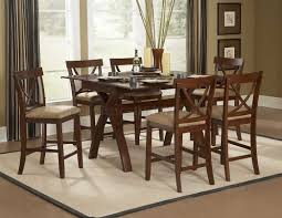 dining room table height astounding counter chandelier bar and