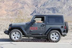 Jeep Wrangler 1998 2018 Jeep Wrangler Mule Spied Again