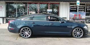 Lexani Cvx 44 Rims In A 2010 Jaguar Xj Street Dreams