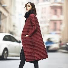 plus size light jacket jellpe ultra light down jacket women long puffer coat plus size 208
