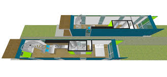 house perspective with floor plan container house 1 u2014 foxworth architecture pllc