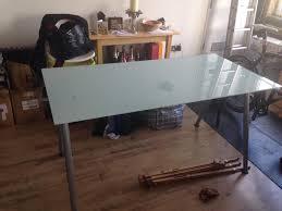 Secretary Desks Ikea by Ikea Glass Top Desk Zamp Co