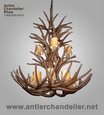 Authentic Antler Chandelier Large Antler Chandeliers Antler Chandelier