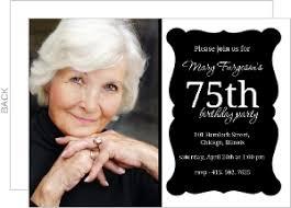 75th birthday invitations reduxsquad com
