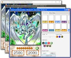 photo card maker anime yu gi oh card maker home