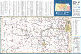 Kansas Map Large Detailed Map Of Kansas With Cities And Towns