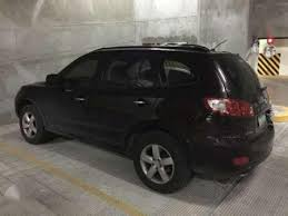 hyundai santa fe 2007 black hyundai santafe at black for sale