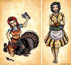 thanksgiving flash by alejandra l manriquez pinup