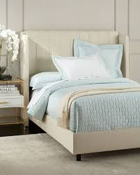 cotton upholstered bed neiman marcus
