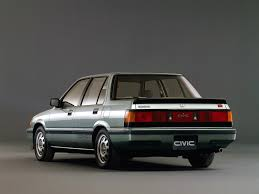 1985 honda civic si sedan awesome vintage wheels pinterest