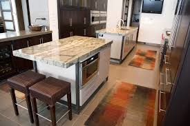 space saving kitchen islands home design curved countertop with bar stools and white