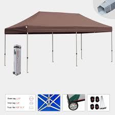 10 X 5 Canopy by Eurmax 10 X 20 Premium Ez Pop Up Canopy Instant Tent Wedding Party