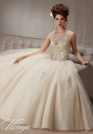 vizcaya quinceanera dresses embroidery and beading on a tulle style quinceanera dress
