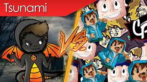 schlechte youtuber tsunami vs firegoden with loop control