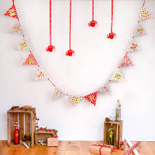 merry christmas light up bunting by letteroom notonthehighstreet com