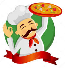 chef pizza pizza chef stock vector vikasuperstar 2681030