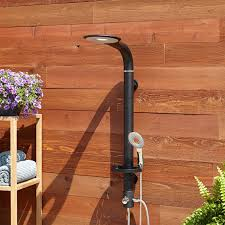 Teak Outdoor Shower Enclosure by 72