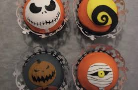 nightmare before christmas cupcake toppers foodista nightmare before christmas cupcake toppers ring in