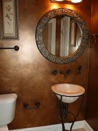 bronze looking walls painted treat your guests to a beautiful