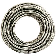 Southwire In Wall Digital 7 by Shop Southwire Metal Flex 100 Ft Conduit Common 3 8 In Actual