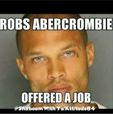 Hot Convict Meme - chiseled inmate known as the hot felon released from prison