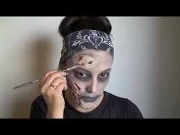 Soccer Zombie Halloween Costume Easy Zombie Makeup