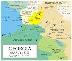 Maps Of Georgia Political Map Of Georgia Nations Online Project Russogeorgian War