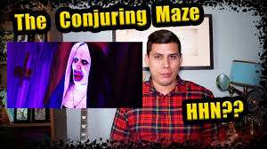 halloween horror nights map 2016 halloween horror nights 2017 update 5 conjuring maze youtube