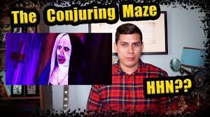 halloween horror nights 2016 map halloween horror nights 2017 update 5 conjuring maze youtube