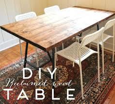 Wooden Tables And Benches Dining Table Reclaimed Wood Dining Table With Leaves Wooden