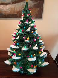 ceramic christmas tree vintage ceramic christmas tree painting class mondak heritage center