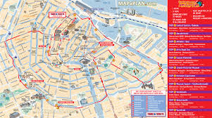 Hop On Hop Off Map New York by Maps Update 1200857 Map Of Amsterdam With Tourist Attractions