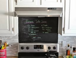 remodelaholic grey and white kitchen makeover painted chalkboard over the stove instead backsplash house for five featured remodelaholic