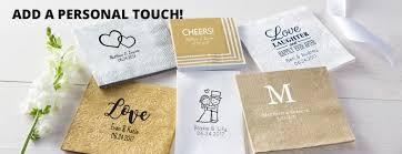 wedding napkins personalized wedding napkins personalized wedding products